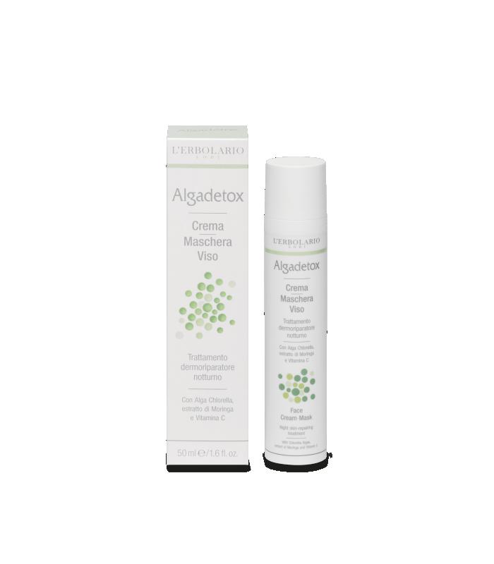 Algadetox Crema-Mascarilla Cara Algadetox, 50 ml