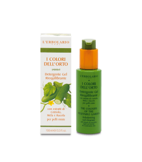Colores del Huerto Verde Detergente Gel Reequilibrante, 100 ml