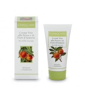 Crema de Cara al Melocotón y Flores de Naranjo, 50 ml
