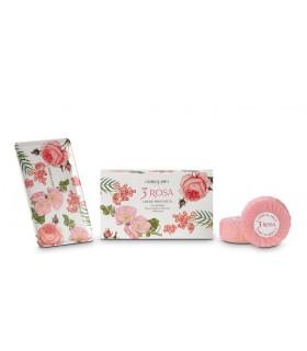 3 Rosas Jabón, 100 g