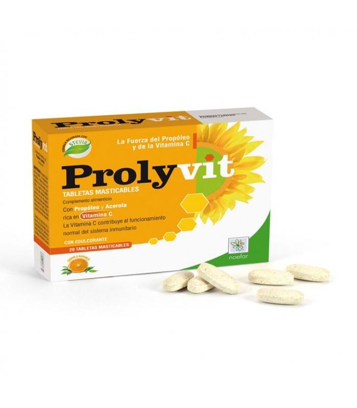 Prolyvit Tabletas Masticables (Garganta), 20 tabletas
